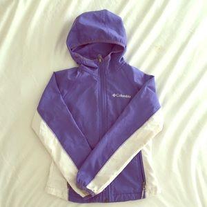 Kids Columbia 6X (xs) windbreaker jacket